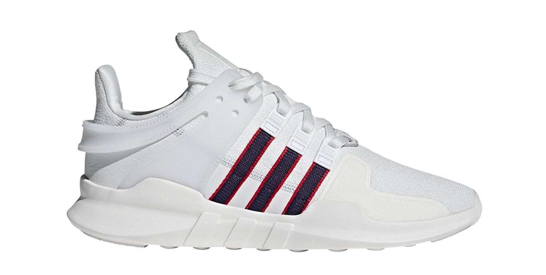 Adidas Uomo eqt appoggio avanzata scarpe scarlet bianco / convy / scarlet scarpe bb6778 9b24f2