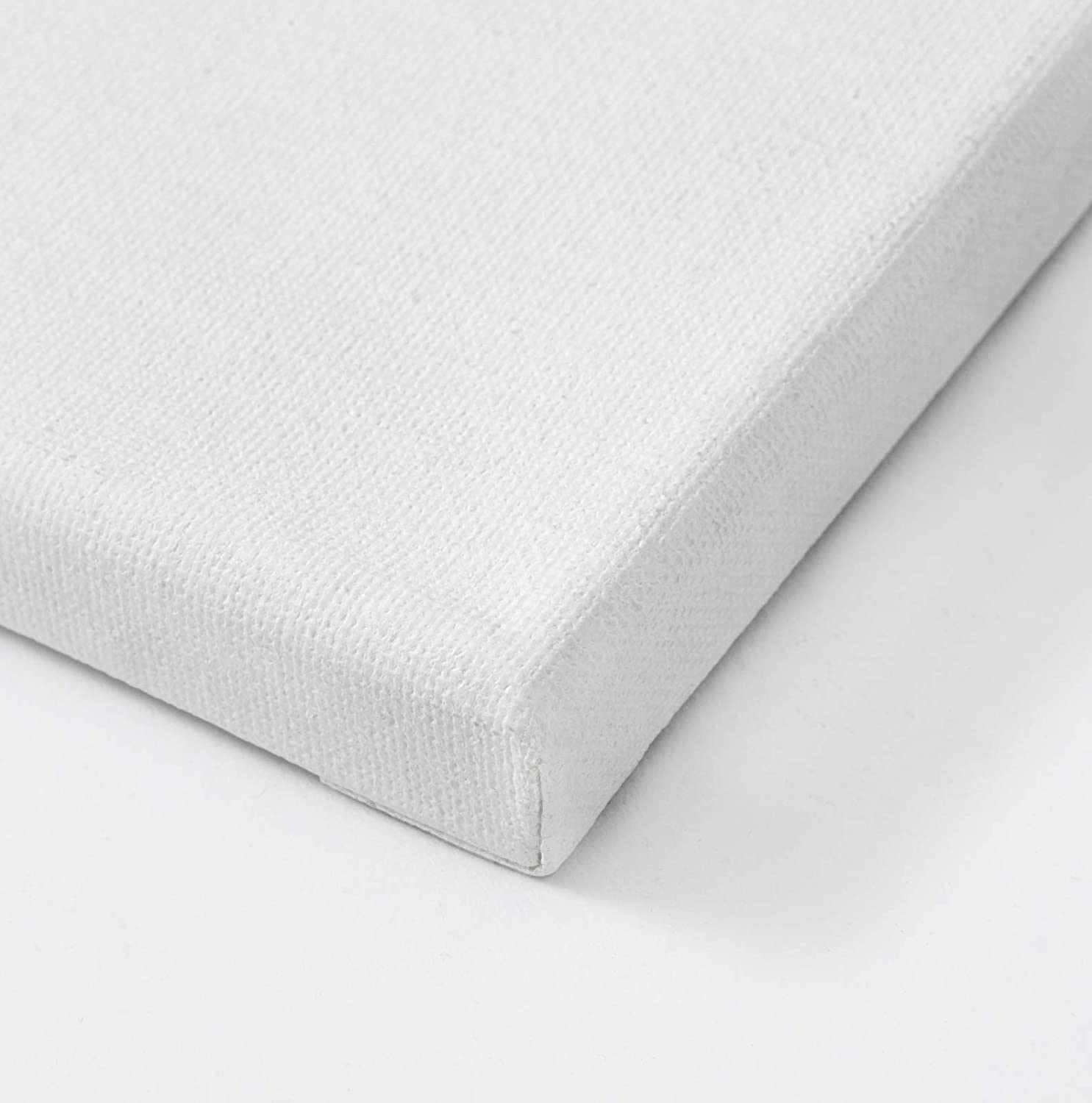 Americanflat Stretched Canvas in White 100/% Cotton Wooden Frames /& Acid Free