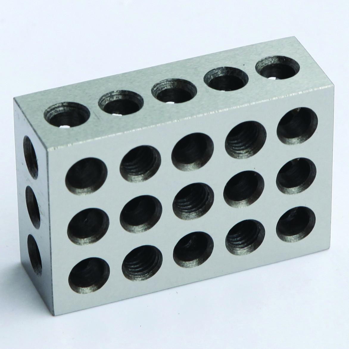 Купить HFS BLOCK123-LS-1x2 - HFS 1 PAIR 123 BLOCKS 1-2-3 ULTRA PRECISION .0002 HARDENED 23 HOLES 0.0002