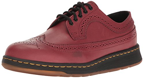 Uomo Dr Martens Gabe 5 Tip Eye Lace Up Wing Tip 5 Schuhe Cherry ROT Temperley 22187600 2256df