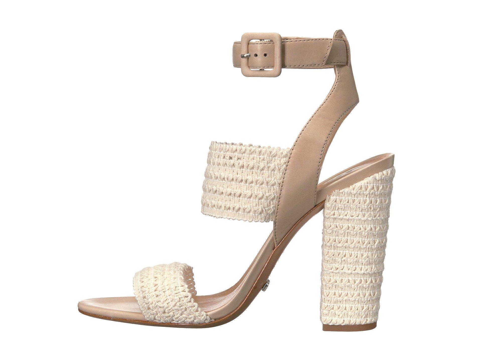 Schutz Woven Ankle Strap Sandals outlet cheap price cheap sale best sale nMwRvIt1Nm