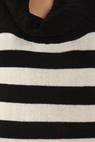 Juniors-Stripe-Cowl-Neck-Slim-Jumper-Knit-Mini-Dress-Tunic-Sweater-Comfy-Top thumbnail 62