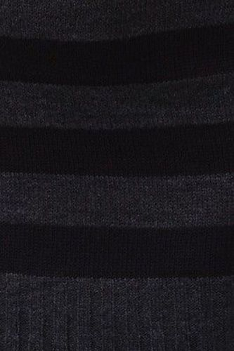 Juniors-Stripe-Cowl-Neck-Slim-Jumper-Knit-Mini-Dress-Tunic-Sweater-Comfy-Top thumbnail 50