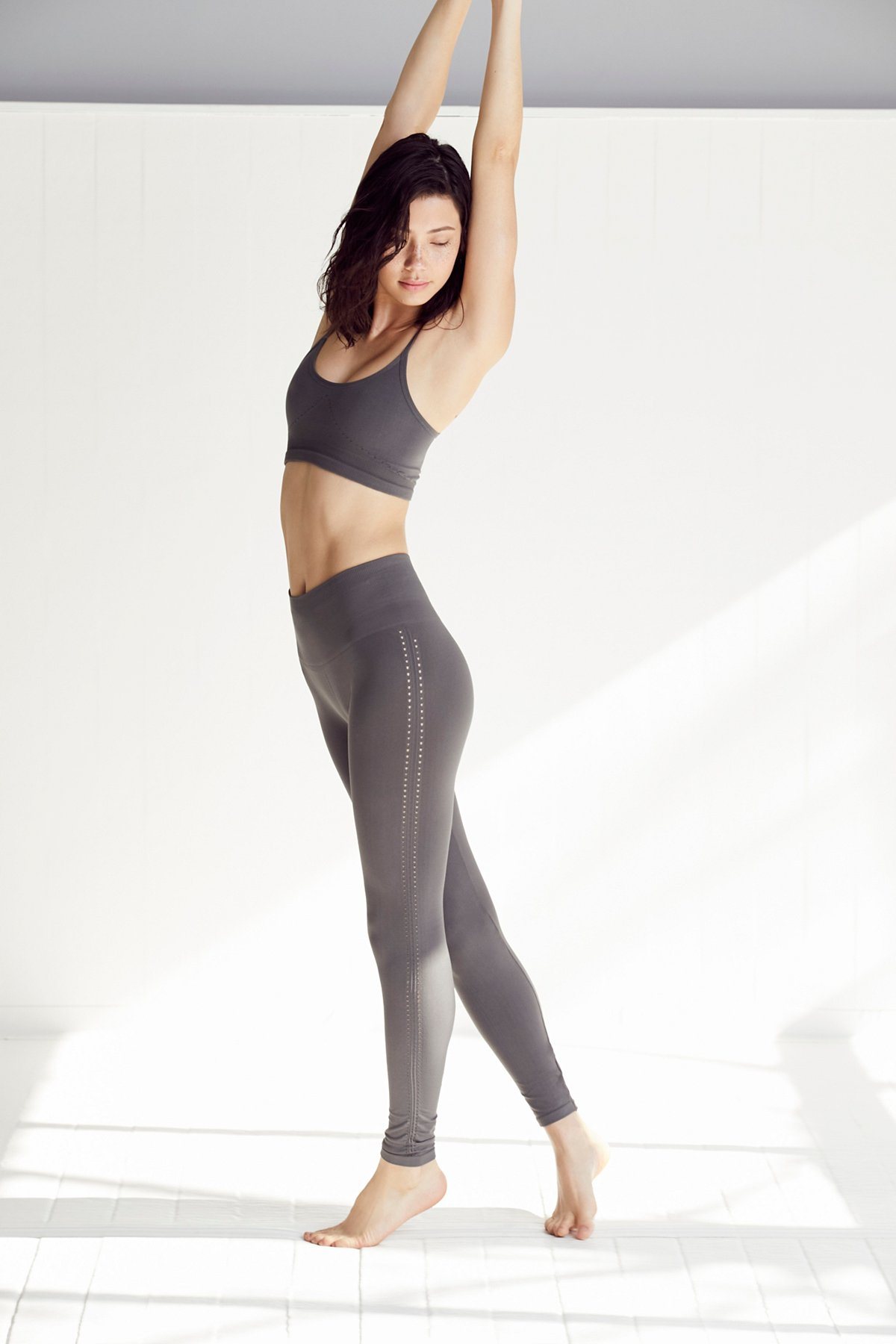 a0776eb9e6 Nwt Free People Movement Barely There Leggings Seamless Workout Pants Xs-L   68