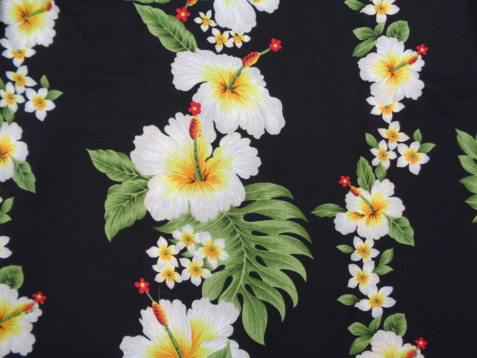 Hawaiian Shirts Mens Hibiscus Flower Print Beach Party Aloha Ebay