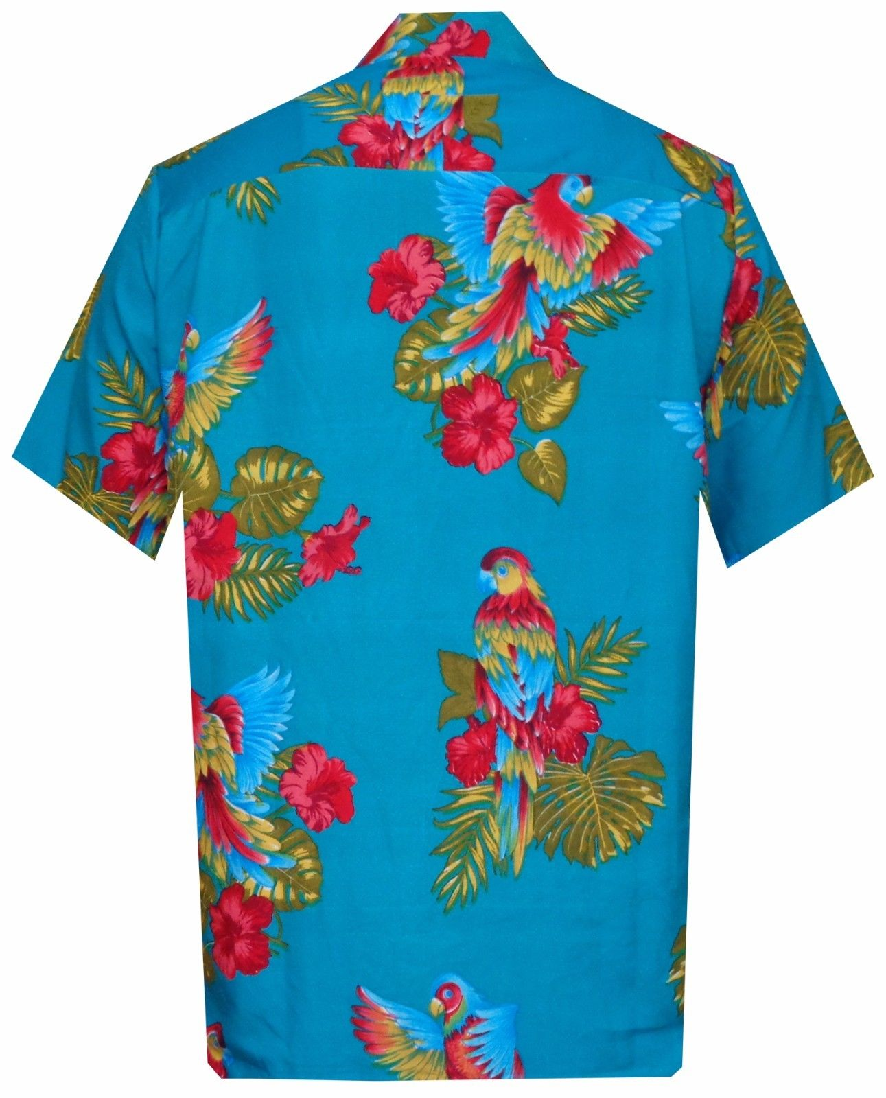 Hawaiian Shirt Mens Parrot/Toucan Print Beach Aloha Party | eBay