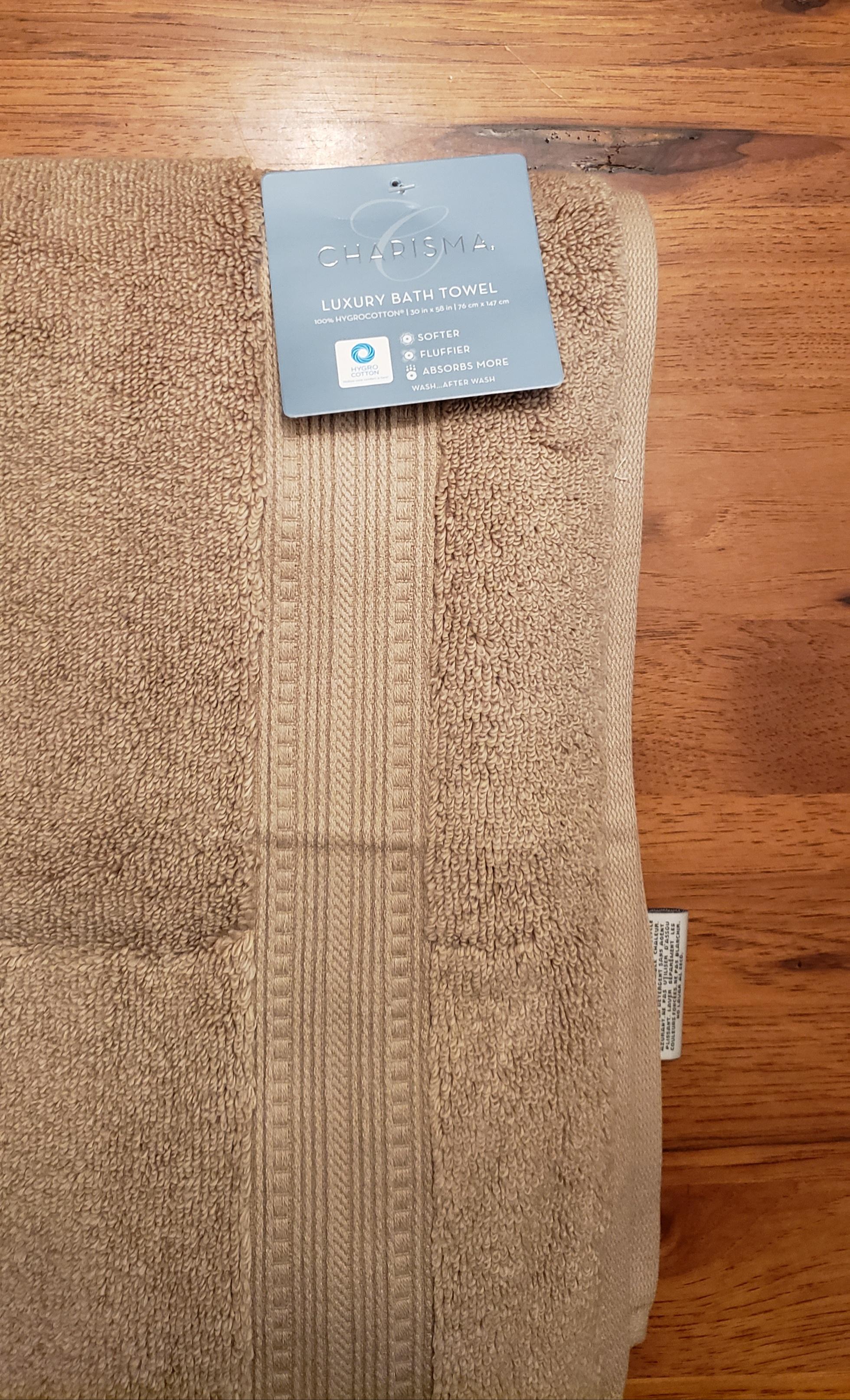 Linen Charisma Luxury Bath Towel 100/% Hygro Cotton