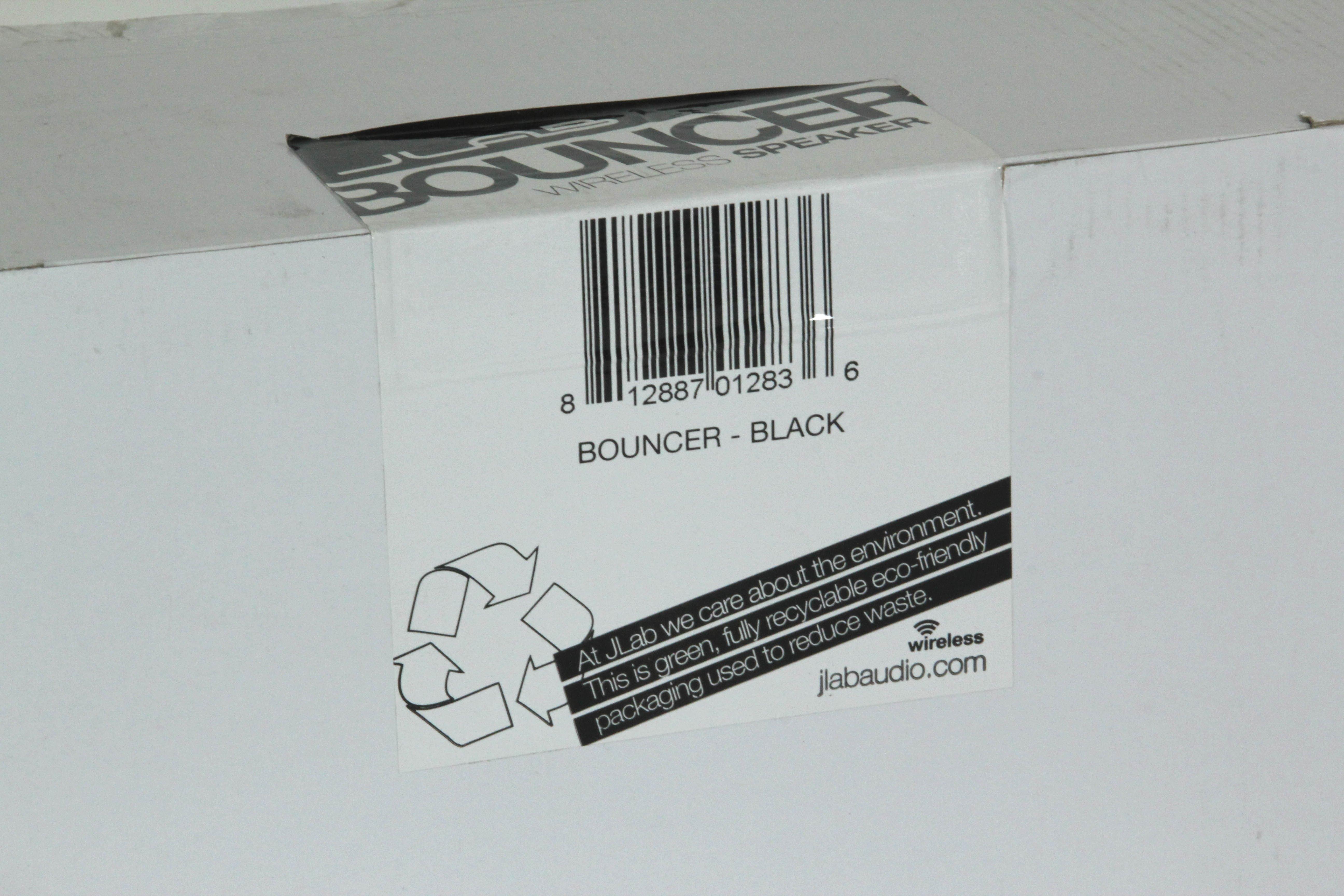 JLab Bouncer Premium Home Bluetooth Speaker Black