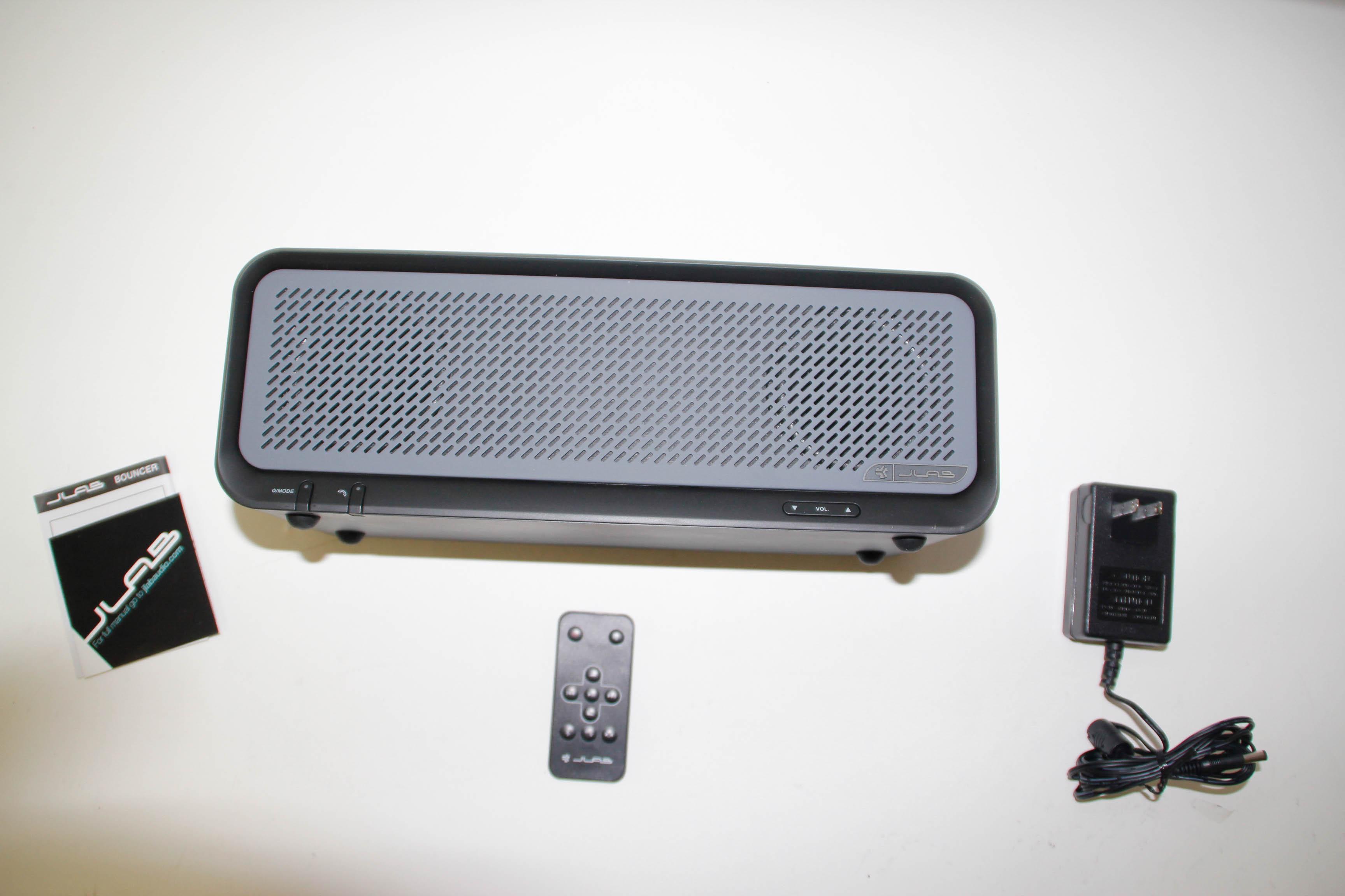 $89.99 - JLab Bouncer Premium Home Bluetooth Speaker Black