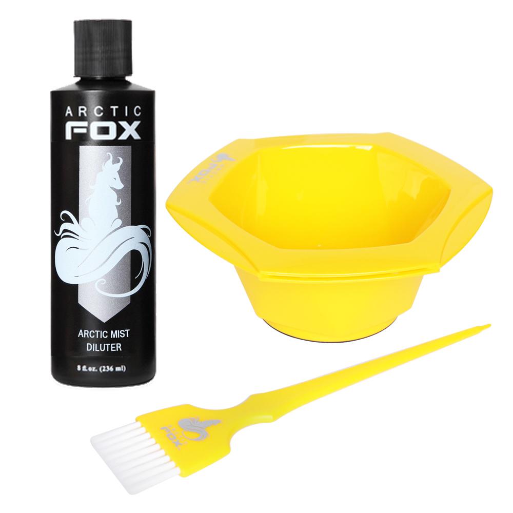 Arctic Fox Bundle 4 8 Oz Vegan Semi Permanent Hair Dye