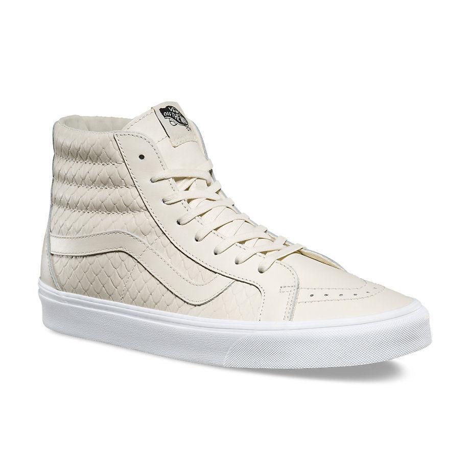 Vans SK8 Hi Reissue DX Armor Leather Turtledove Women's Shoes Size 7