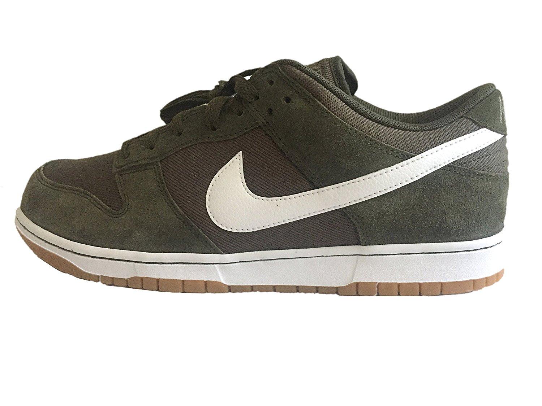 Nike e basso tela carico maschile di basket tela basso kaki scarpe taglia 9 dd3c24