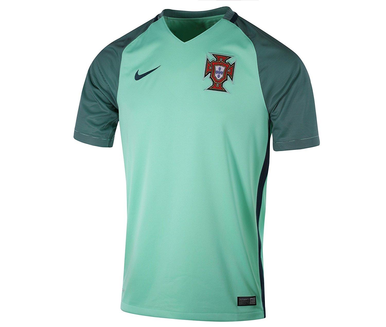 Nike Portugal Men's National Team Soccer Jersey 2016 Euro ...