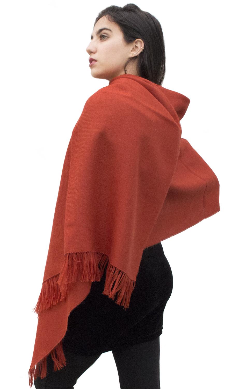 Women/'s Superfine Woven 100/% Baby Alpaca Wool Shawl Wrap
