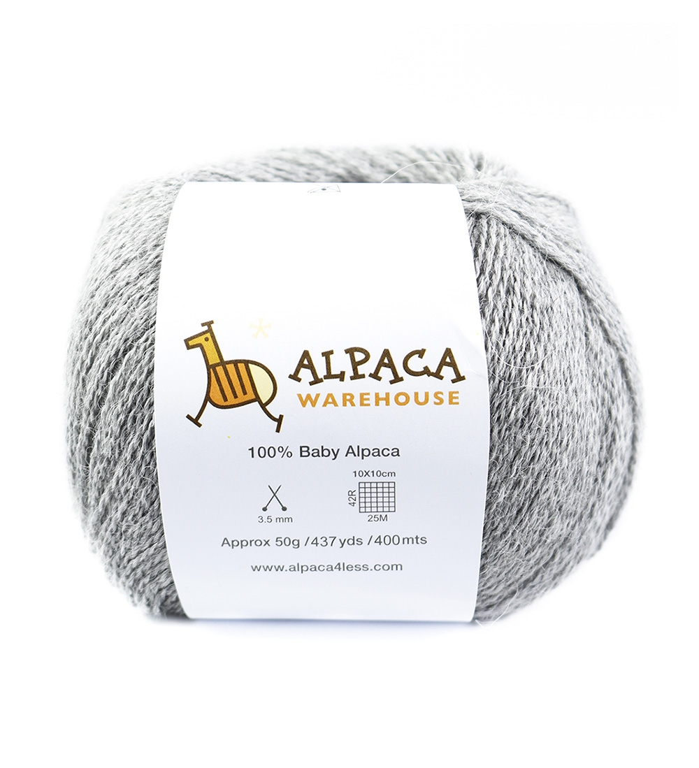 100/% Baby Alpaca Yarn Wool Set of 3 Skeins Lace Weight