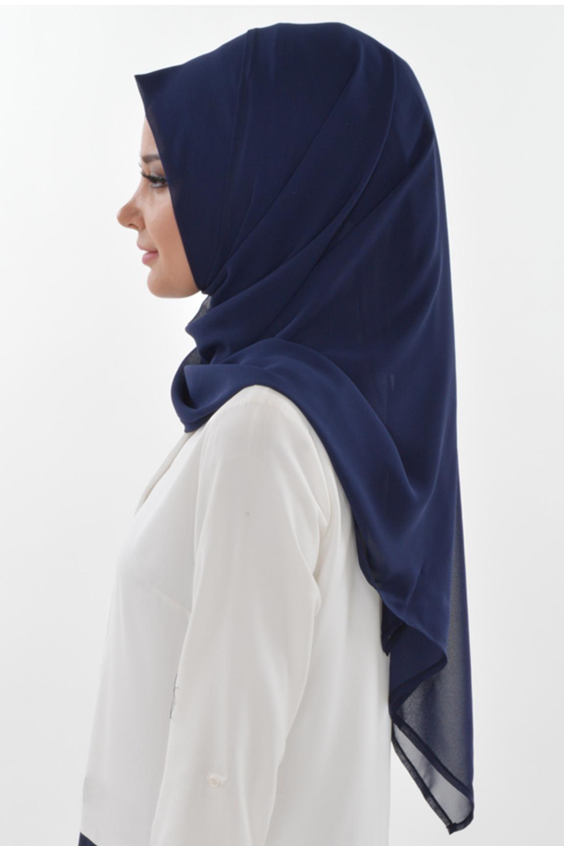 Islamic Easy Ready Muslim Hijab Practical Instant Chiffon Turkish Hijab Shawl