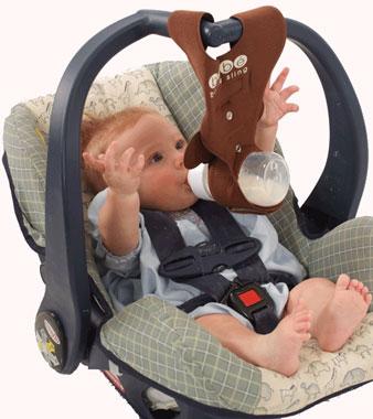 Bebe Bottle Sling ~ Hands-free Baby Bottle Feeding Holder | eBay