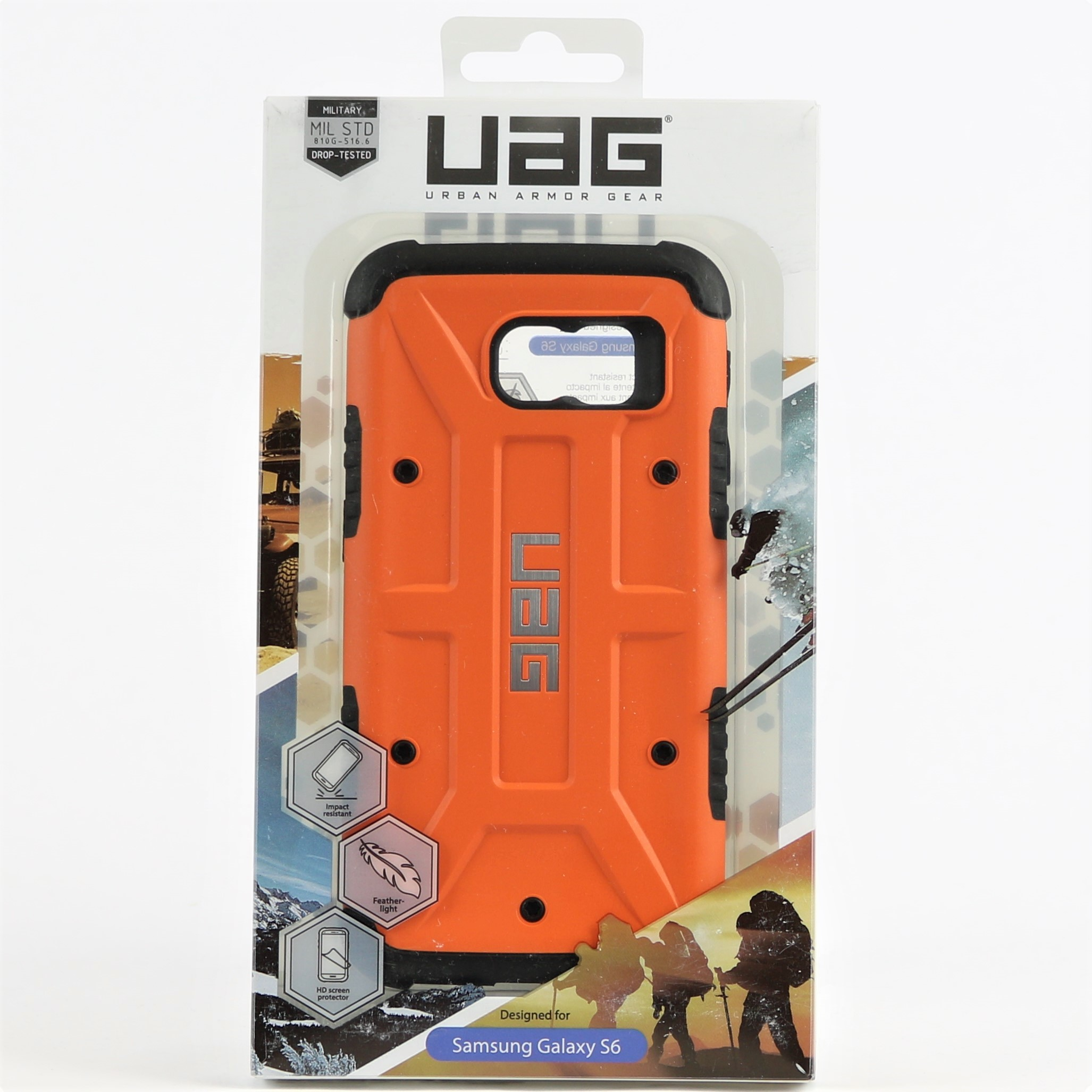 Galaxy s6 cases shop samsung cases online uag urban armor gear - Click Thumbnails To Enlarge Feather Light Military Grade Protection For Your Samsung Galaxy S6