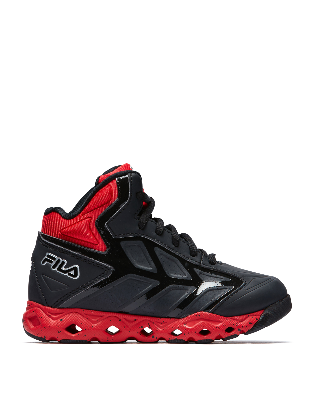 Fila TORRANADO Kids High Top Basketball Sneakers Shoes | eBay