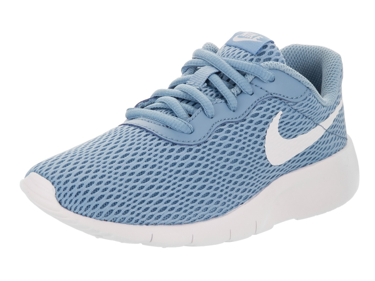 new product 18686 4aa3f ... usa nike tanjun ps youth boys white blue athletic running shoes 77d2a  dadad