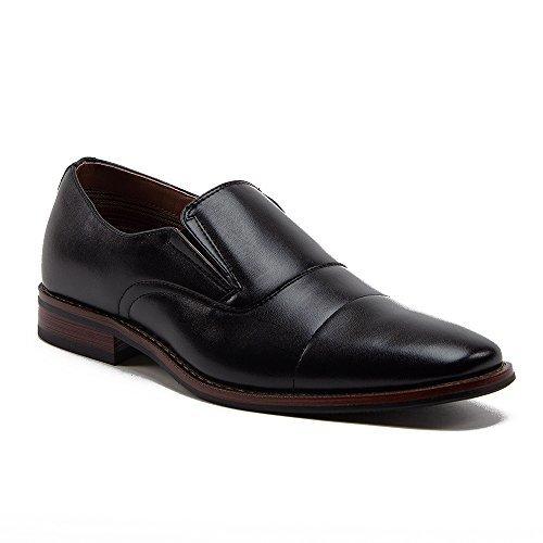 Ferro-Aldo-Men-039-s-19532-Stitched-Cap-Toe-Slip-On-Casual-Dress-Loafers-Shoes
