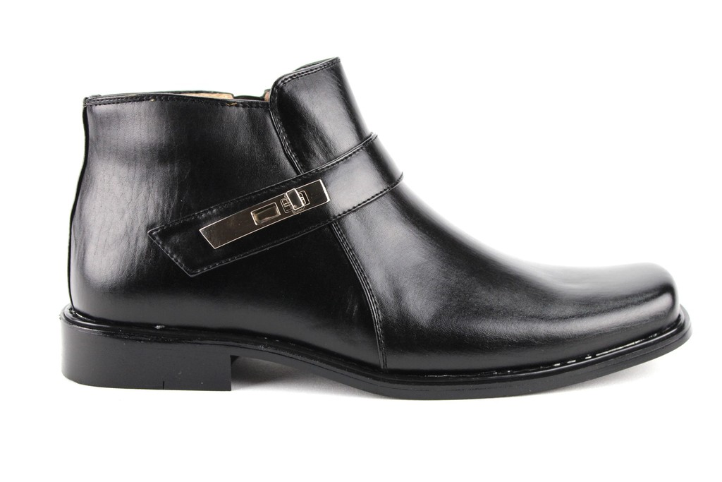 new majestic s 38901 ankle high bootie square toe