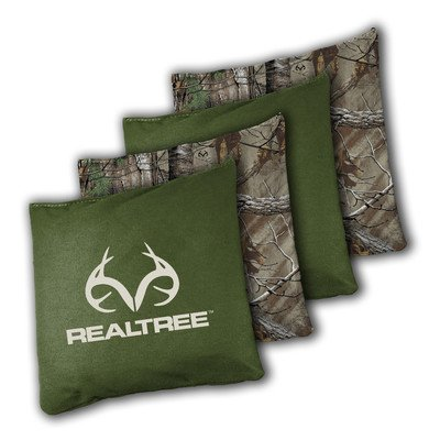 Realtree Toss Game Bean Bags Cornhole Regulation