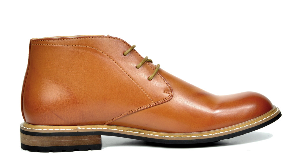 US  Men/'s Leather Lined Oxfords Dress Ankle Boots Lace Up Chukka Boots Shoes