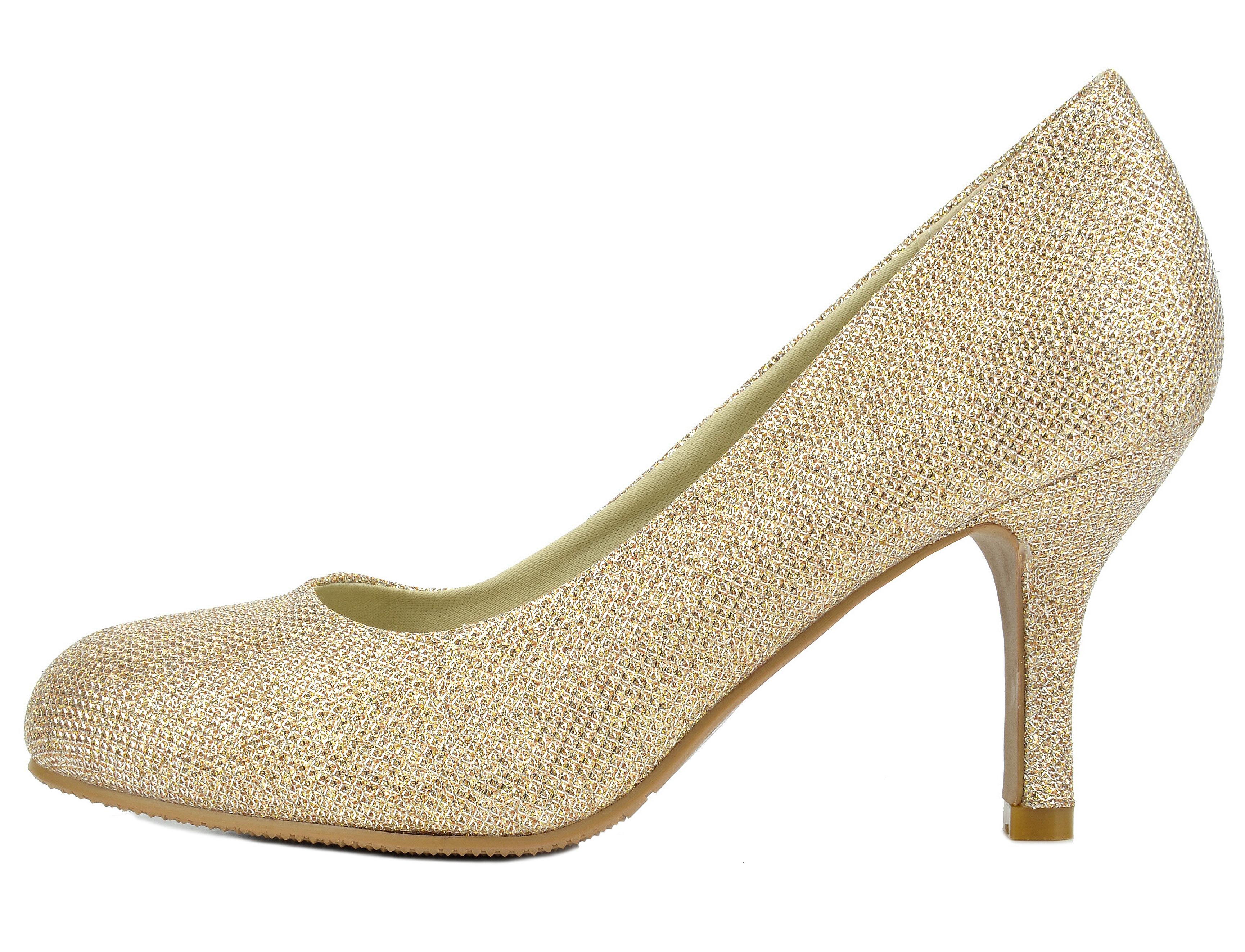 Dressy Low Heel Evening Shoes