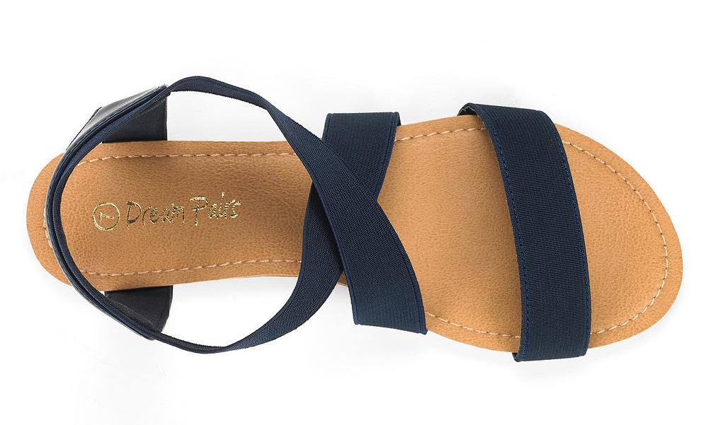 how to fix elastic sandal strap