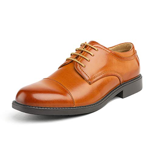 Men/'s Formal Modern Classic Lace Up Leather Lined Oxford Dress Shoes Downing