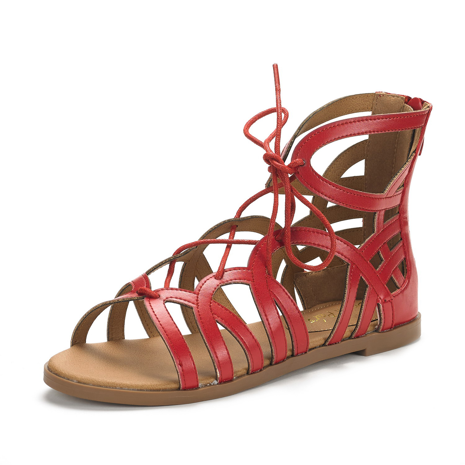 DREAM-PAIRS-CESAR-New-Women-Cutout-Open-Toe-Ankle-Strap-Gladiator-Flat-Sandals