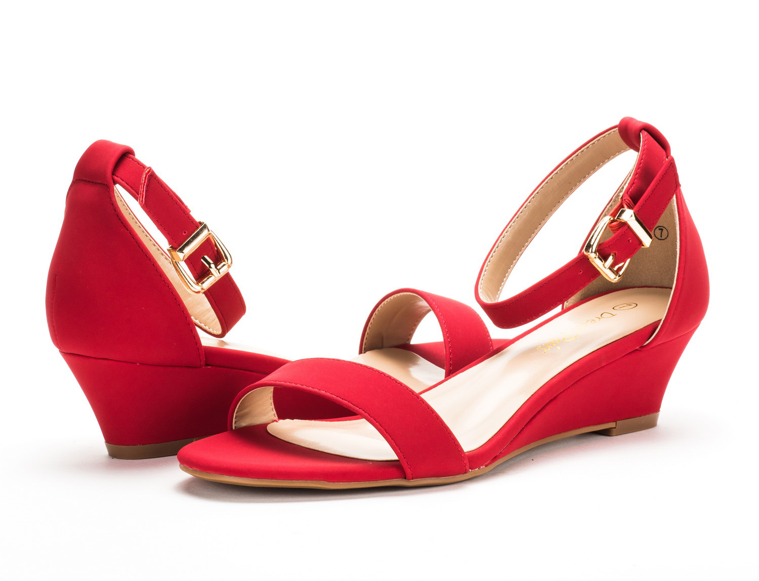 DREAM-PAIRS-Women-Open-Toe-Ankle-Strap-Buckle-Thong-Design-Low-Wedge-Sandals thumbnail 38