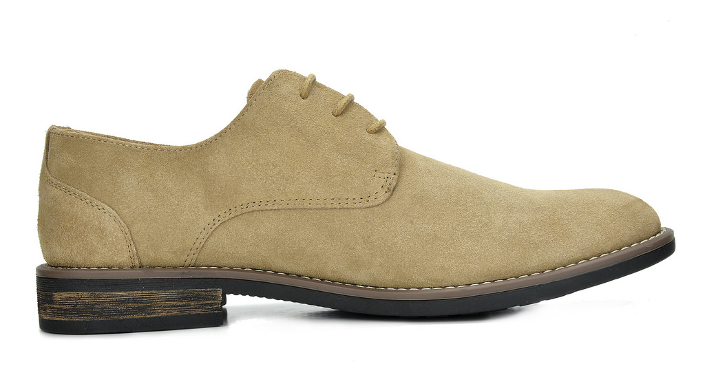 BRUNO MARC Mens Urban New Casual Wingtip Suede Lace up Flat Oxfords Dress Shoes