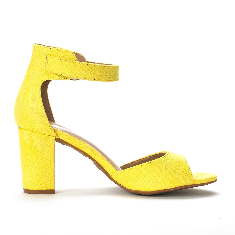 Chunky Low Heel Dress Shoes