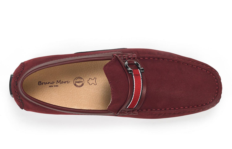 Bruno Marc Men Casual Driving Loafers Breathable Antiskid Slip On Moccasins Shoe