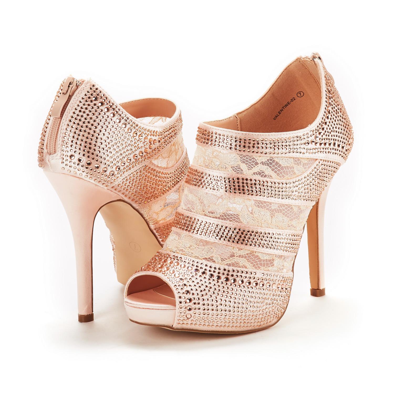 DREAM PAIRS Womens Lady Valentine Fashion Dress High Heel Wedding Pumps Shoes