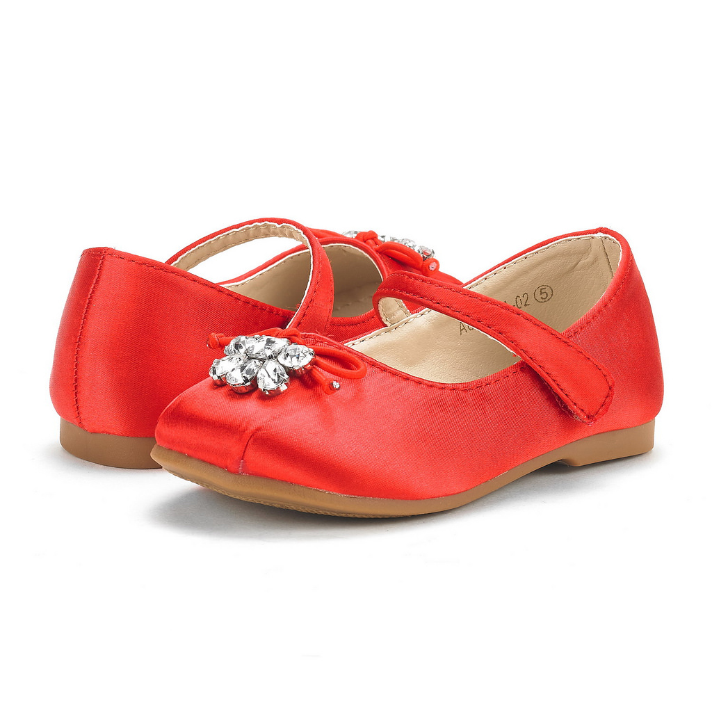d14b9881458 DREAM PAIRS Girl s Toddler Little Kid Aurora-02 Mary Jane Ballerina ...