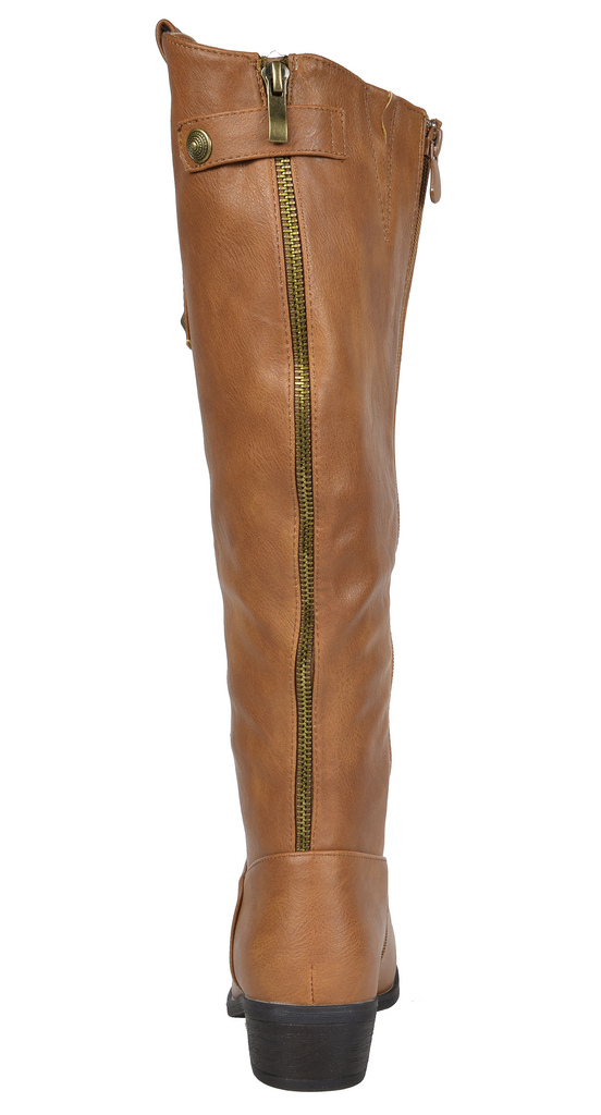 cf73fc361e3 Wide Calf Available DREAM PAIRS Women s New-Luccia Side zipper Knee High  Boots Boots