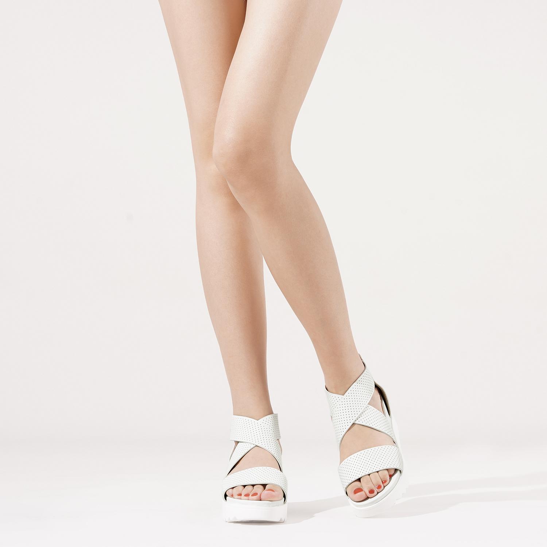 DREAM PAIRS Women/'s Platform Wedge Sandals Open Toe Ankle Strap Summer Shoes