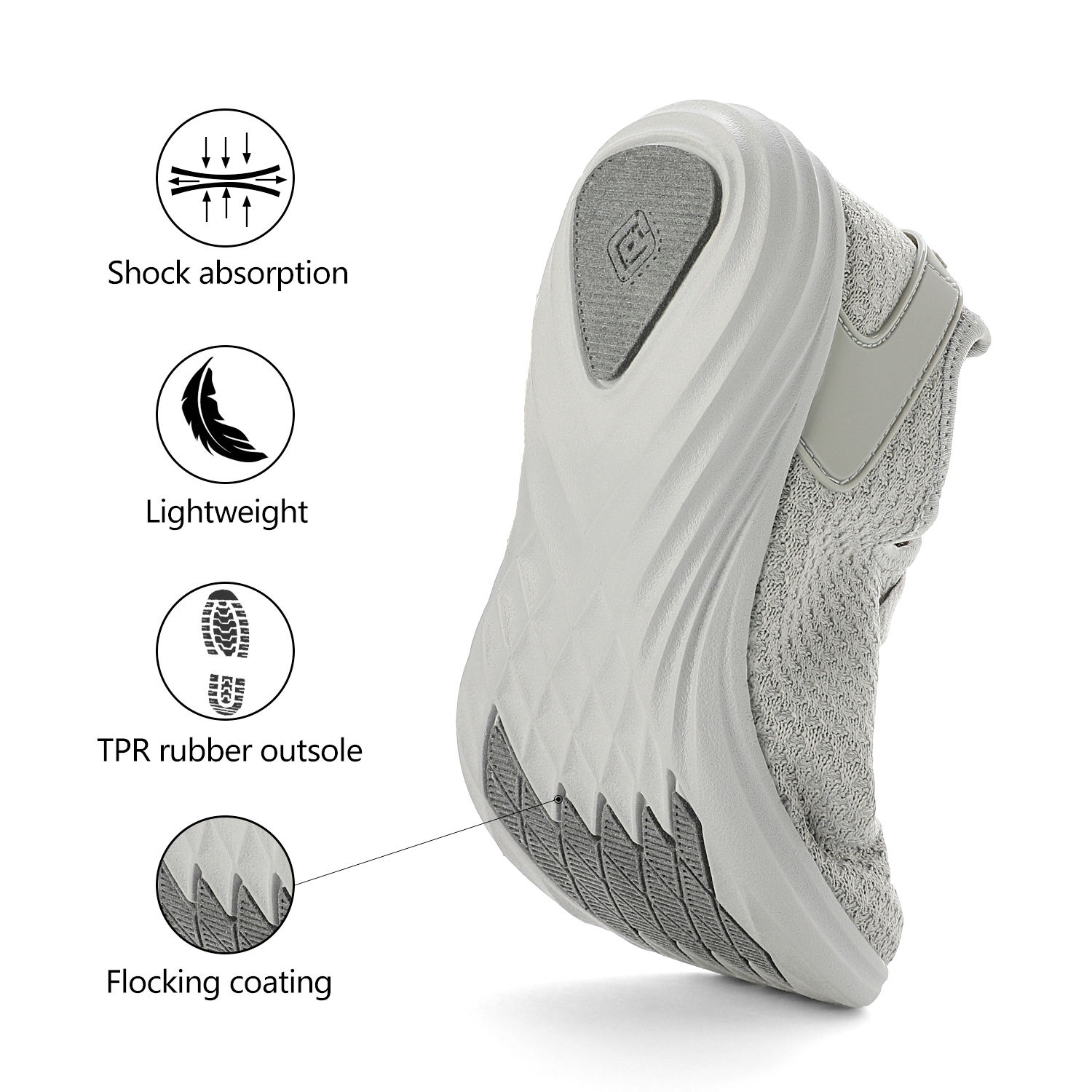 DREAM PAIRS Women Mesh Breathable Sports Athletic Sneakers Running Walking Shoes