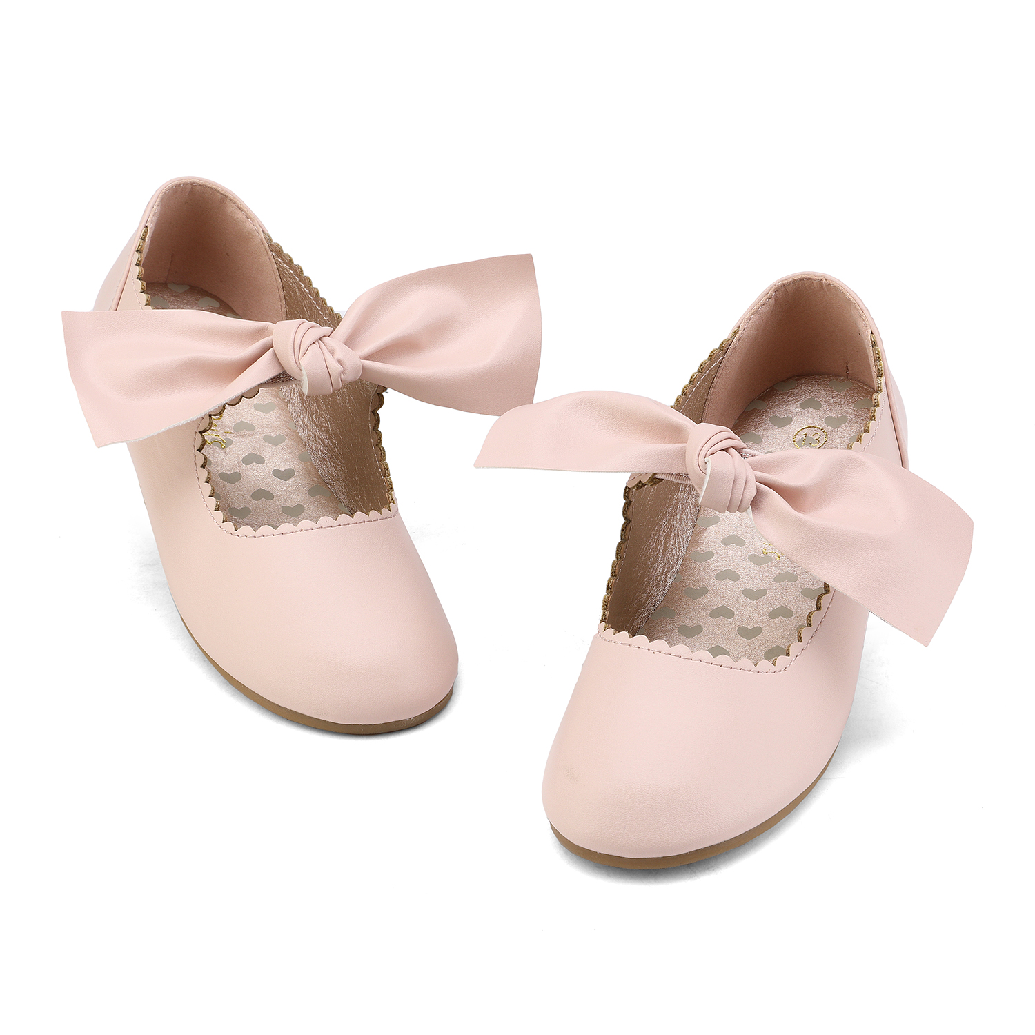DREAM PAIRS Girl/'s Ballet Flat Slip On Dress Shoes Mary Jane Strap Flat Shoes