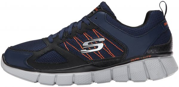 watch 683e9 dde59 ... Skechers Sport Men s Equalizer 2.0 True Balance Balance Balance Sneaker  Navy Orange bf8bd9