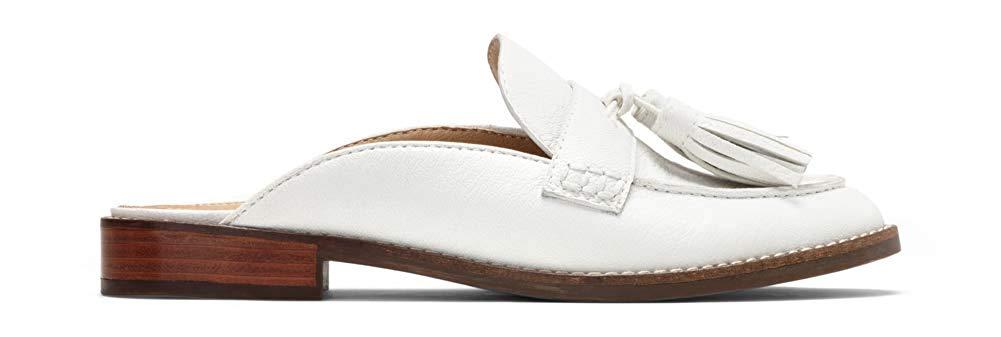Vionic Women/'s Reagan Leather Slip-On Orthopedic Mules White
