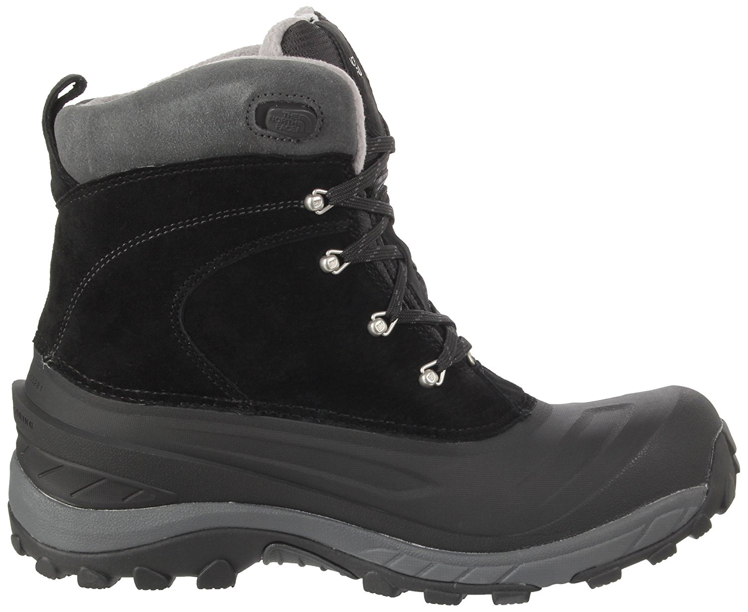 The North Face Men's Chilkat II Insulated Boots Black / Griffin Grey