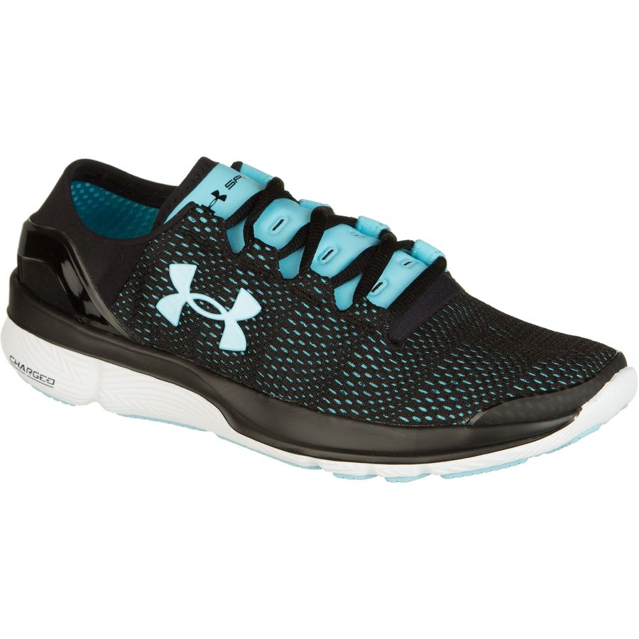 Under Armour Women S Assert  Running Shoes Black Blue
