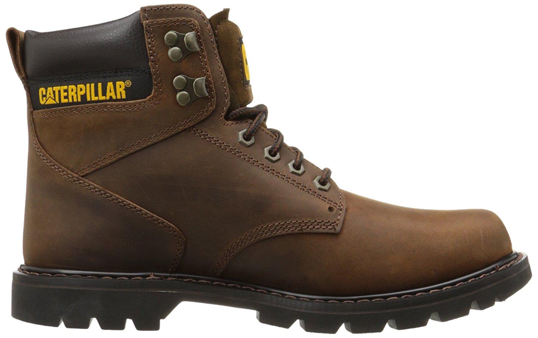 Caterpillar Men's Second Shift P72593 Work Boots Dark Brown