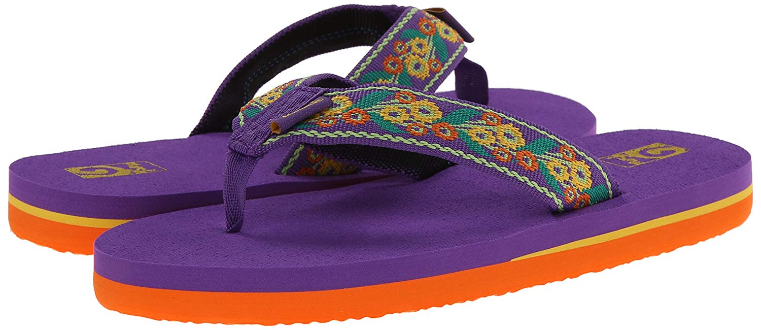 ab5be3c22a20 Teva Mush II Kids   Girls Flip Flop Sandal (Little Kid Big Kid) NEW ...