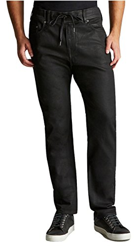 3082c827573cc6 True Religion Men's Slim Twisted Dean Relaxed Coated Jeans in Night ...