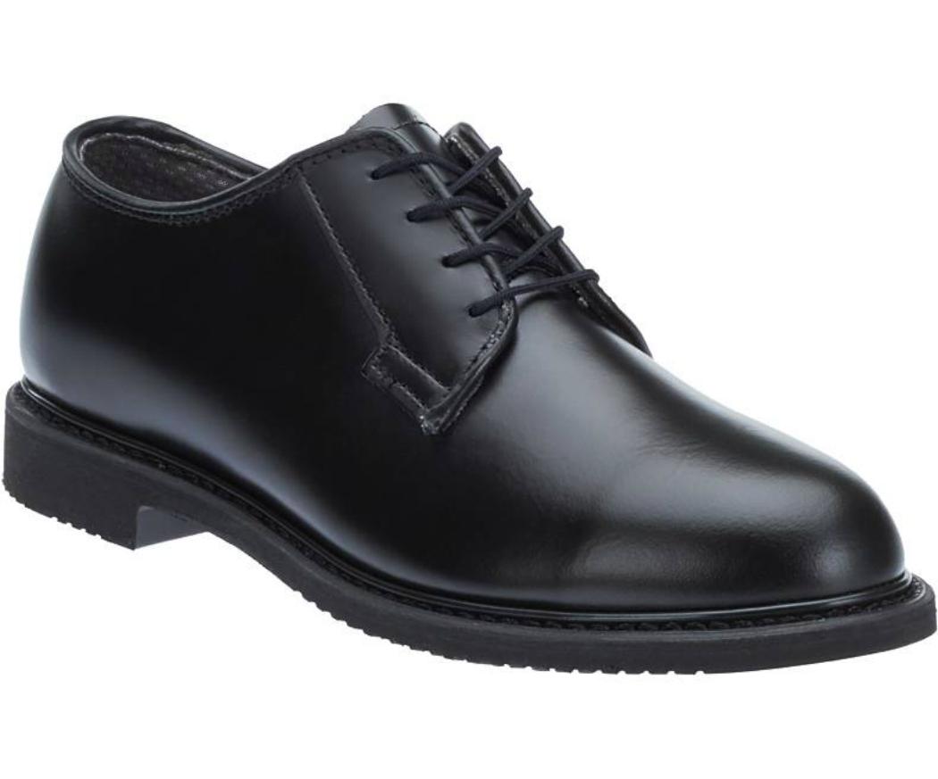 Bates Lites Black Leather Oxford Shoes